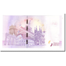 Switzerland, Tourist Banknote - 0 Euro, Switzerland - Port-Valais - Aquaparc -