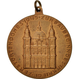 Germany, Archbishop Andreas of Salburg, Medal, 1945, AU(50-53), Bronze, 30mm