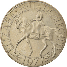 Coin, Great Britain, Elizabeth II, 25 New Pence, 1977, EF(40-45), Copper-nickel