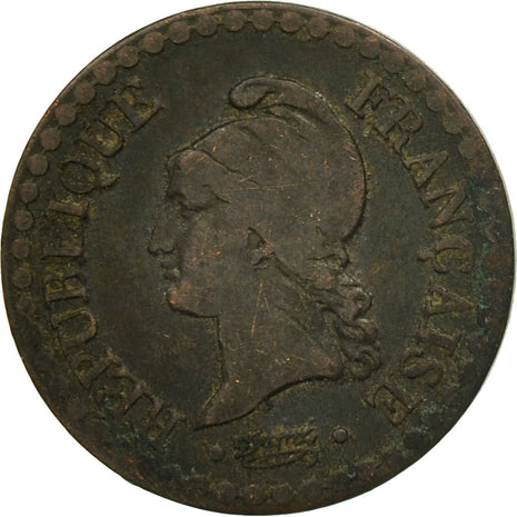 Coin, France, Dupré, Centime, 1849, Paris, VF(20-25), Bronze, KM:754, Le