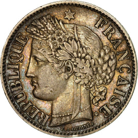Coin, France, Cérès, 2 Francs, 1849, Paris, AU(50-53), Silver, KM:760.1