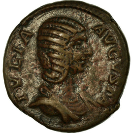 Coin, Julia Domna, As, Roma, EF(40-45), Bronze, Cohen:74