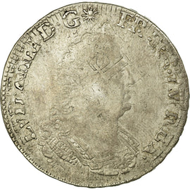 Coin, France, 1/2 Ecu, 1693, Tours, VF(30-35), Silver, Gadoury:185