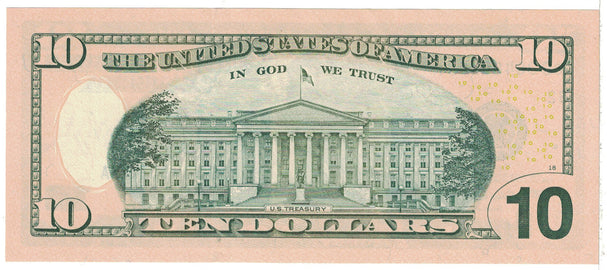 Banknote, United States, Ten Dollars, 2004, Undated, KM:520, UNC(65-70)