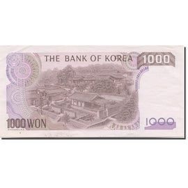 Banknote, South Korea, 1000 Won, 1983, KM:47, UNC(63)