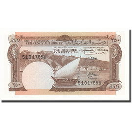 Banknote, Yemen Democratic Republic, 250 Fils, Undated (1965), KM:1b, UNC(65-70)