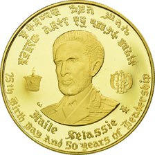 Coin, Ethiopia, Haile Selassie, 50 Dollars, 1966, MS(63), Gold, KM:40