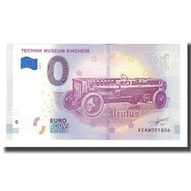 Germany, Tourist Banknote - 0 Euro, Germany - Sinsheim - Musée Automobile et