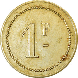 Coin, France, Labourdette, Uncertain Mint, 1 Franc, AU(50-53), Maillechort