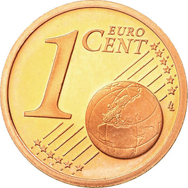 France, Euro Cent, 2000, Proof, MS(65-70), Copper Plated Steel, KM:1282