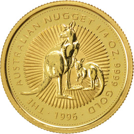 AUSTRALIA, 25 Dollars, 1996, KM #274, MS(65-70), Gold, 7.75