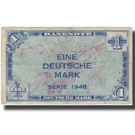 Banknote, GERMANY - FEDERAL REPUBLIC, 1 Deutsche Mark, 1948, KM:2a, VF(30-35)