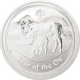Australia, 1 Dollar, 2009, KM #New, MS(65-70), Silver, 31.55