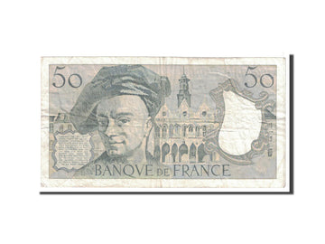 Banknote, France, 50 Francs, 1988, Undated, VF(20-25), Fayette:67.14, KM:152d