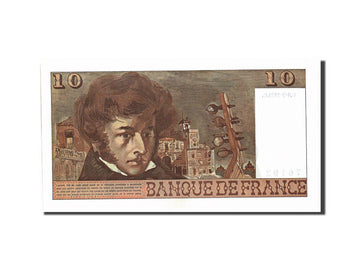 Banknote, France, 10 Francs, 10 F 1972-1978 ''Berlioz'', 1975, 1975-03-06
