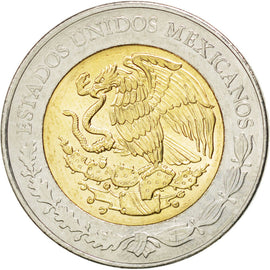Coin, Mexico, 5 Pesos, 2013, MS(63), Bimetallic, KM:New