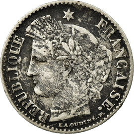 Coin, France, Cérès, 20 Centimes, 1850, Bordeaux, VF(20-25), Silver