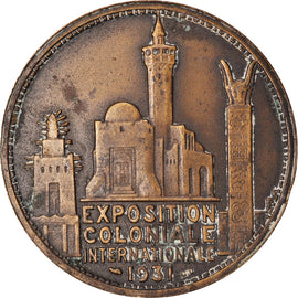 France, Medal, Exposition Coloniale Internationale, Paris, Afrique, 1931