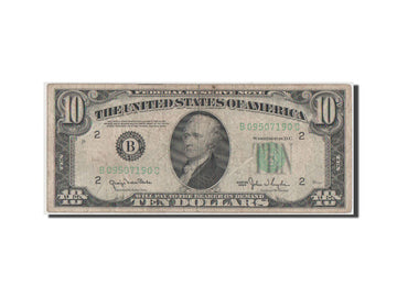 United States, 10 Dollars, 1950, VF(30-35), B09507190C