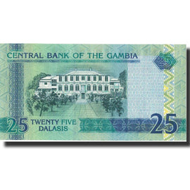 Banknote, The Gambia, 25 Dalasis, 2013, 2013, KM:27, UNC(65-70)