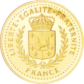 France, Medal, The Fifth Republic, History, MS(65-70), Gold