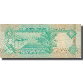 Banknote, United Arab Emirates, 10 Dirhams, 1998, 1998, KM:20a, EF(40-45)