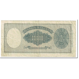 Banknote, Italy, 1000 Lire, 1947, 1947-08-14, KM:83, VF(30-35)