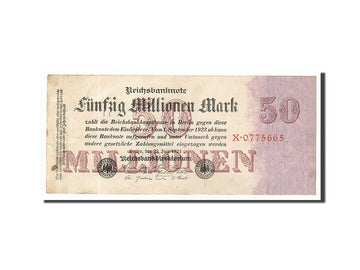 Banknote, Germany, 50 Millionen Mark, 1923, 1923-07-25, KM:98a, EF(40-45)