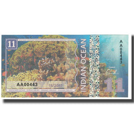 Banknote, Other, Dollar, 2017, 2017-11, INDIAN OCEAN, UNC(65-70)