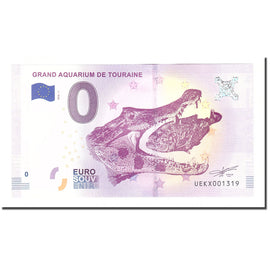 France, Tourist Banknote - 0 Euro, 37/ Lussault-sur-Loire - Grand Aquarium de