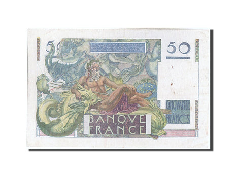 Banknote, France, 50 Francs, 50 F 1946-1951 ''Le Verrier'', 1940, 1949-02-17