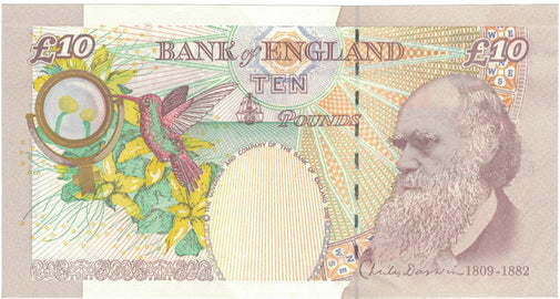 Banknote, Great Britain, 10 Pounds, 2004, 2004, KM:389c, AU(55-58)