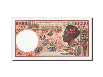 Banknote, French Pacific Territories, 10,000 Francs, 2002, KM:4b, UNC(65-70)