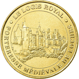 France, Token, Touristic token, Loches - Logis Royal, Arts & Culture, 2000, MDP
