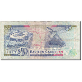 Banknote, East Caribbean States, 50 Dollars, 1993, Undated (1993), KM:29l