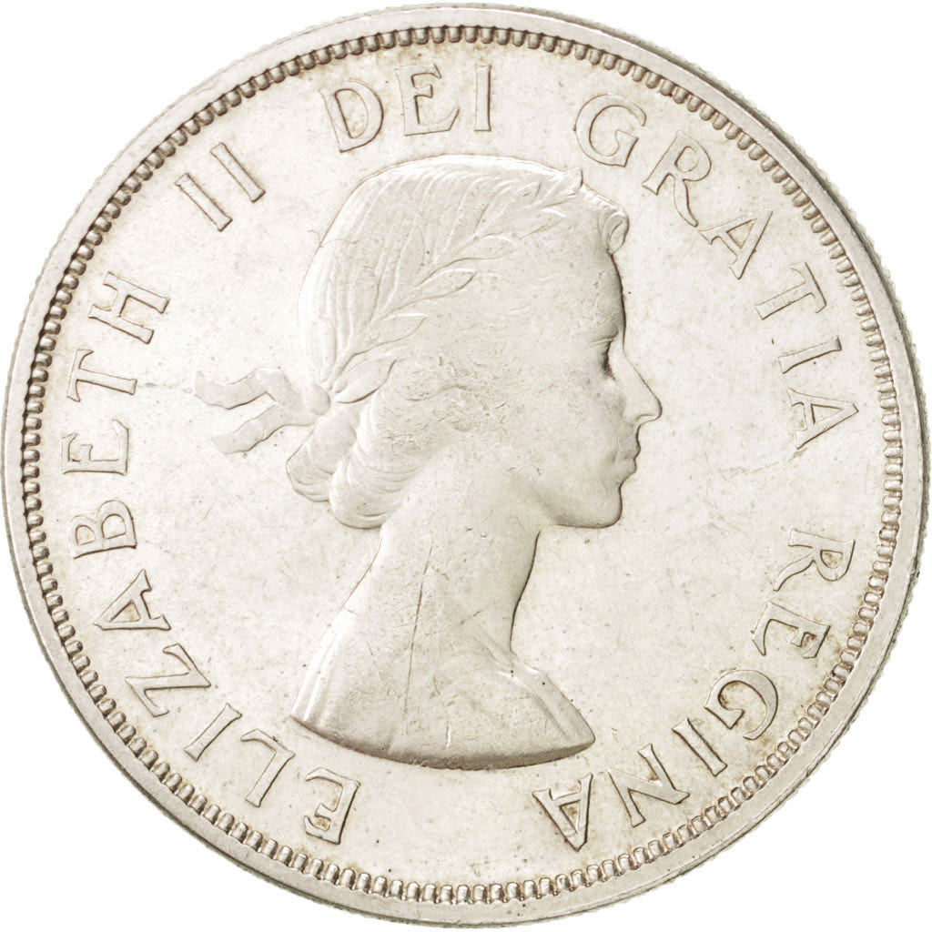 Canada Dollar 1962 Royal Canadian Mint KM:54 MS(60-62) Silver 36