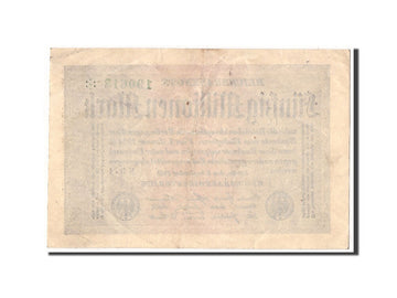 Banknote, Germany, 50 Millionen Mark, 1923, 1923-09-01, KM:109b, EF(40-45)