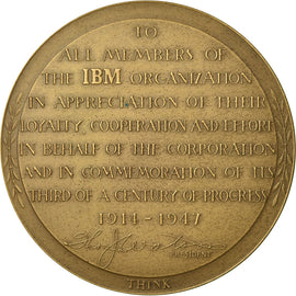 United States of America, Medal, Members of the IBM Organization, Business &