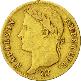 Coin, France, 20 Francs, 1815, Paris, EF(40-45), Gold, KM:705.1, Gadoury:1025a