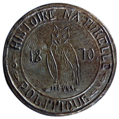 FRANCE, Politics, Society, War, Government of National Defense, Medal, 1870,...