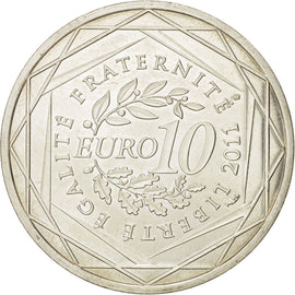Banknote, France, 10 Euro, 2011, MS(64), Silver, KM:1752