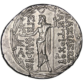 Syria (Kingdom of), Antiochus VIII (121-96 AV JC), Tetradrachm, Antioch,...
