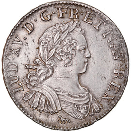 Coin, France, Louis XV, 1/2 Écu aux 8 L, 1/2 ECU, 44 Sols, 1725, Paris
