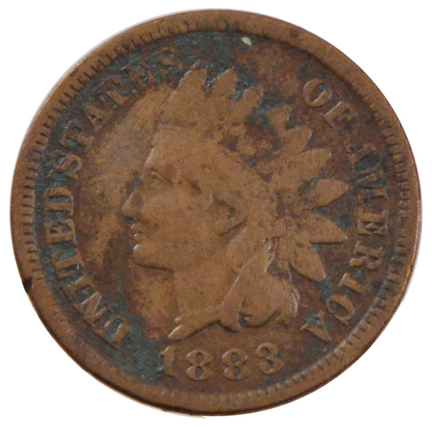 UNITED STATES, Indian Head Cent, Cent, 1883, U.S. Mint, KM #90a, VF(20-25),...