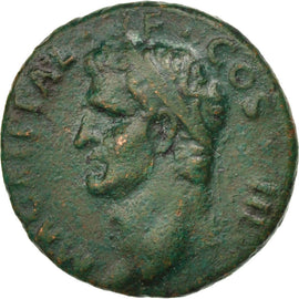 Agrippa, As, Rome, VF(30-35), Bronze, RIC #58, 10.77