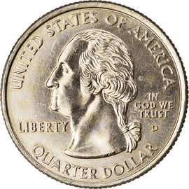 Coin, United States, Nevada, Quarter, 2006, U.S. Mint, Denver, golden, MS(63)