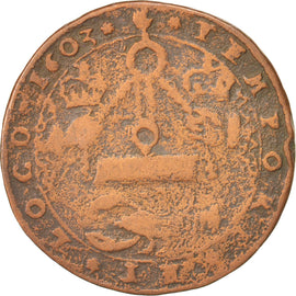 Germany, Austrian Netherlands, Token, 1603, VF(30-35), Copper, 27