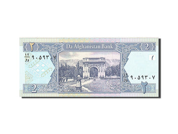 Afghanistan 2 Afghanis 2002 KM:65a  UNC(65-70)