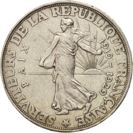 Coin, France, 20 Francs, 1929, EF(40-45), Silver, Gadoury:851