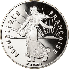 Coin, France, Semeuse, 5 Francs, 1992, Paris, BE, MS(65-70), Nickel Clad